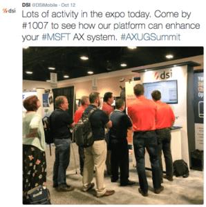 AXUG Summit on Twitter