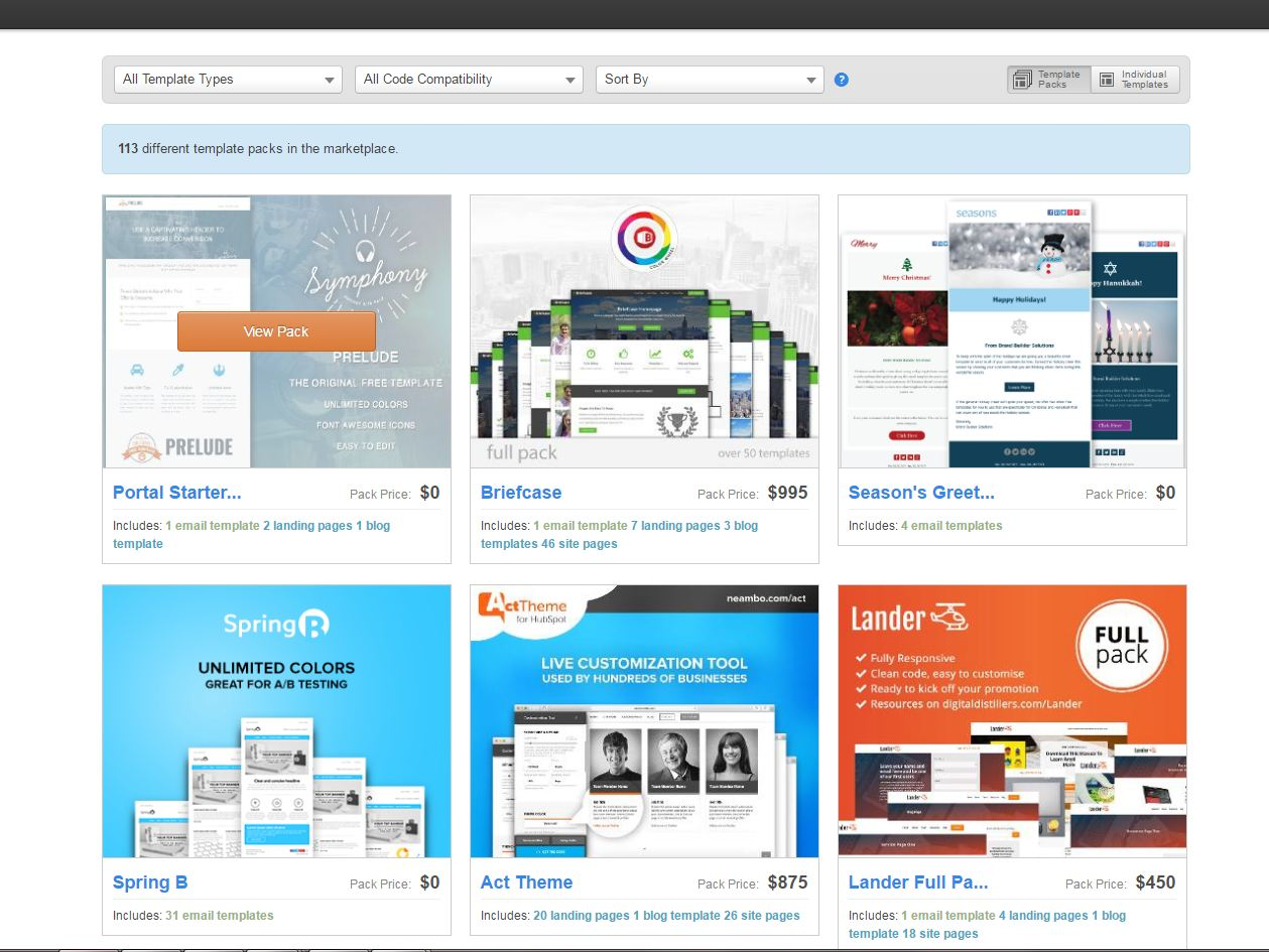 Tools for effective web templates development on HubSpot