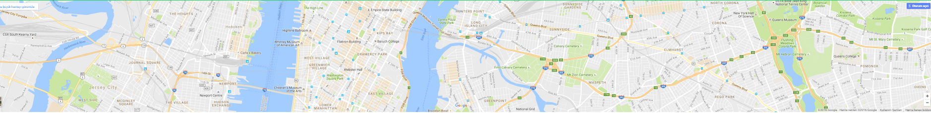 area locator for restaurant landing page