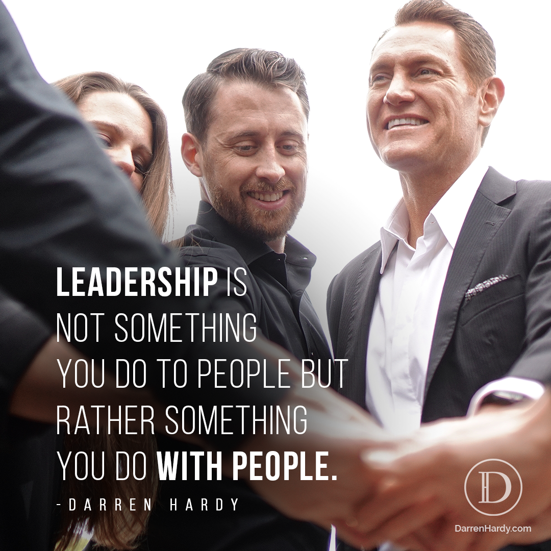Darren Hardy Leader vs Manager Quote