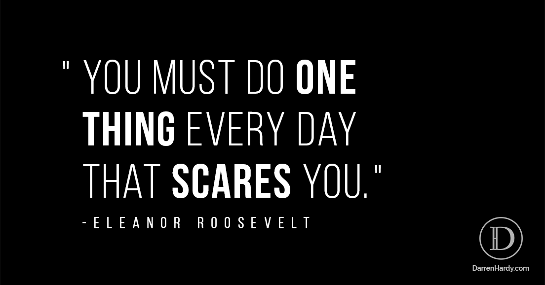 Eleanor Roosevelt on Fear Quote