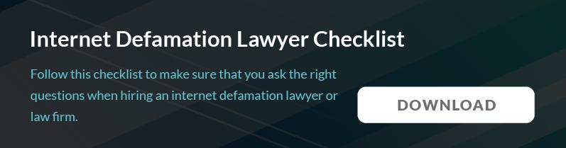 internet-defamation-lawyer-checklist