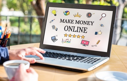 geld mit dem internet verdienen