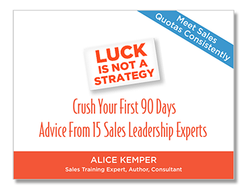 15 Tips to Crush It! New Resource for New Sales Managers