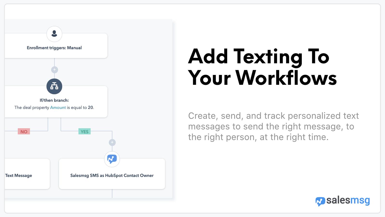 Salesmsg | HubSpot App Marketplace