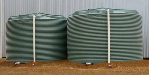 Rain Water Tank Cover-NEW Rain Tank 1000 L incl Cistern