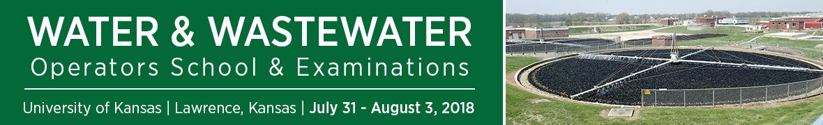 Water and Wastewater Operators School and Examinations