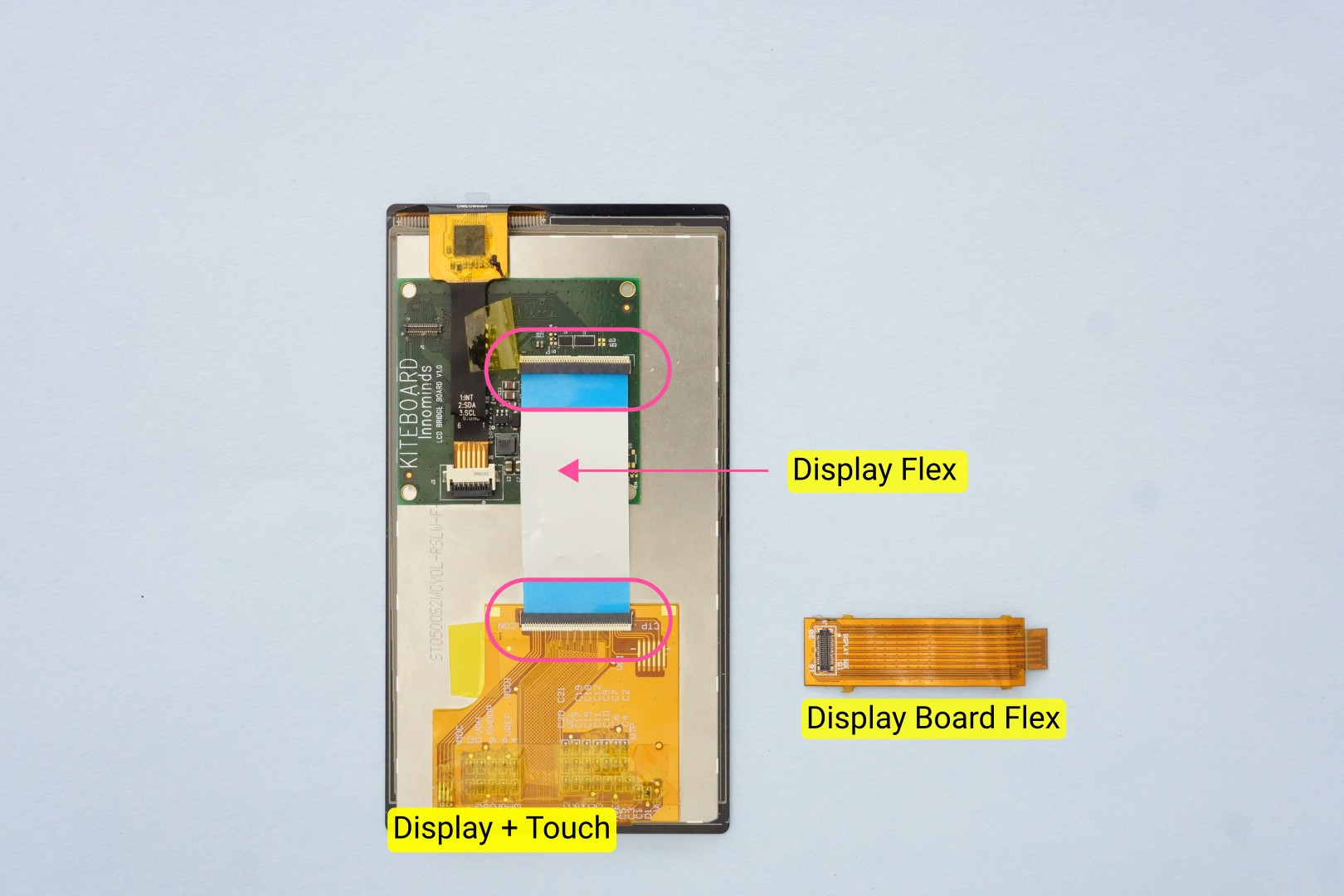 Building Poorna Your First Kitephone The Two Circuits Carefully Compare Pictures To Breadboard It Is A Layer Flex Cable Designed Carry Impedance Controlled Signals With Proper Reference Planes