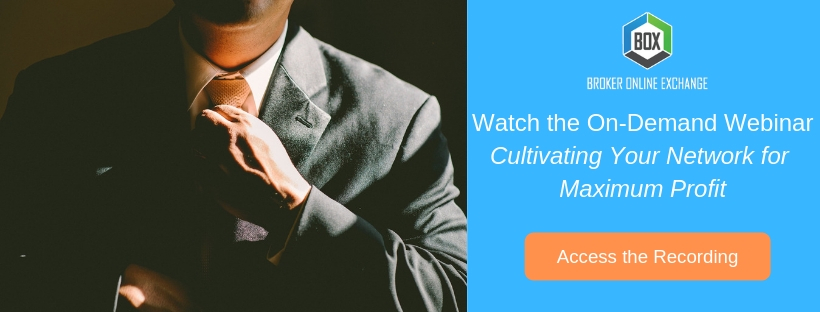 Watch the on-Demand Webinar Cultivating Your Network for Maximum Profit (1)
