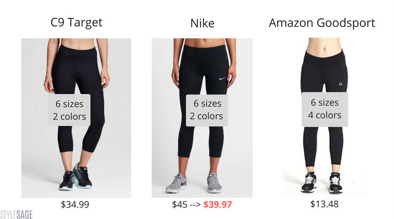 Amazon, Nike, C9 Champion