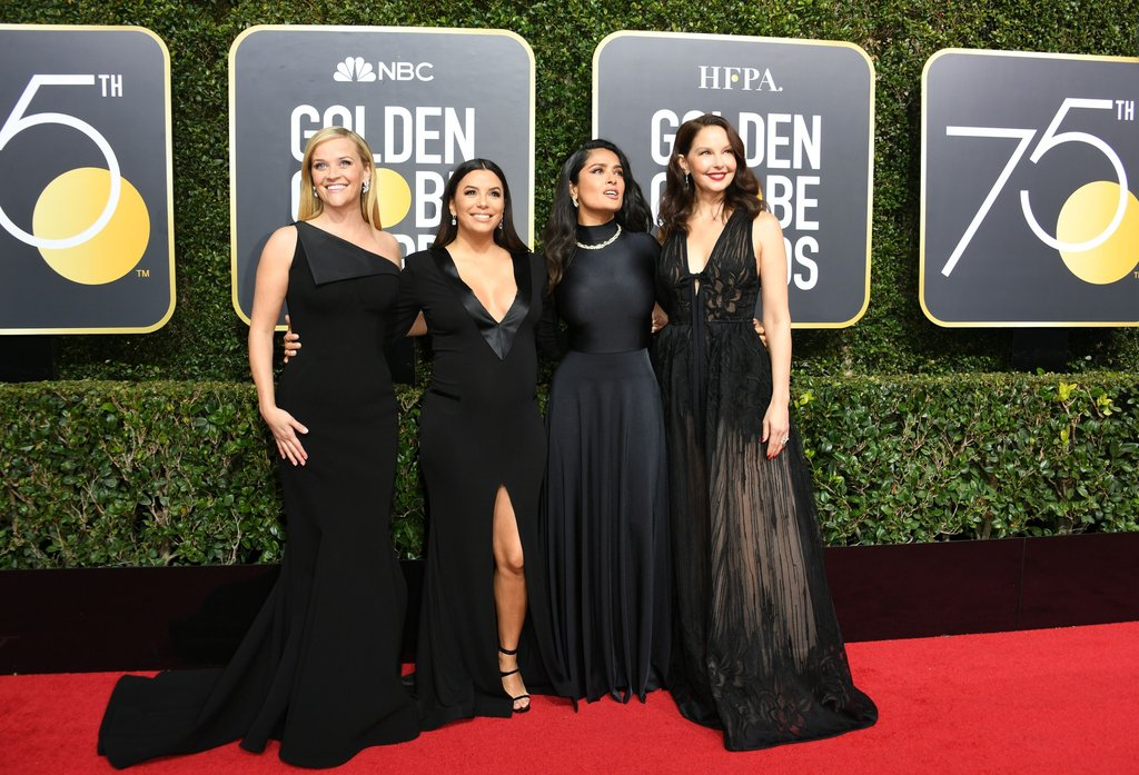 #TimesUp - Beyond Fashion at This Year's Golden Globes