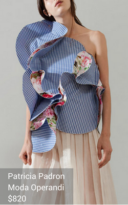 gingham clothing from Patricia Padron