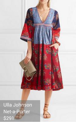 boho dress from Ulla Johnson