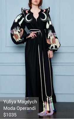 boho dress from Yuliya Magdych