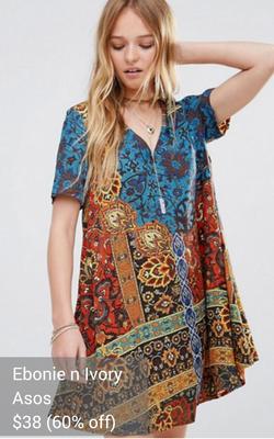 boho dress from Ebonie n Ivory