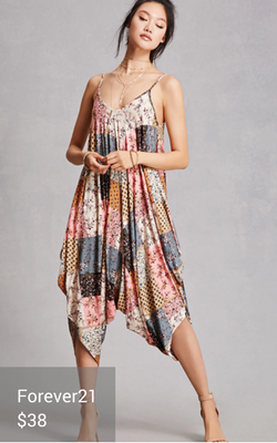 boho jumpsuit from Forever21