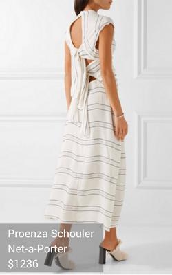 tie-back dress from Proenza Shouler