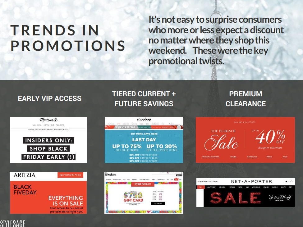 cyber monday, black friday promotions