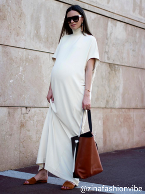 maternity wear - maxi dress