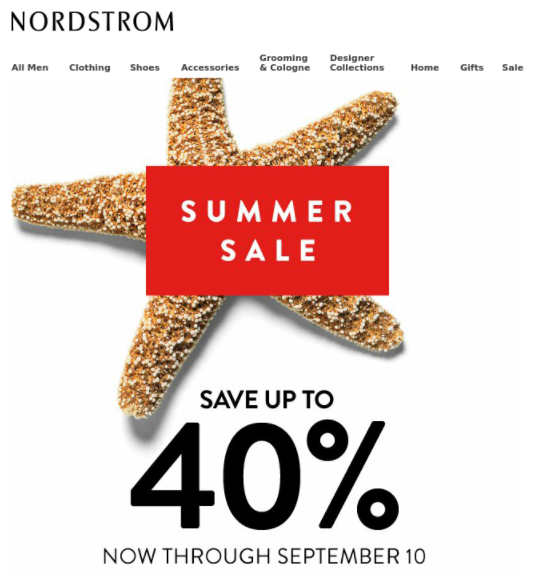 nordstrom labor day