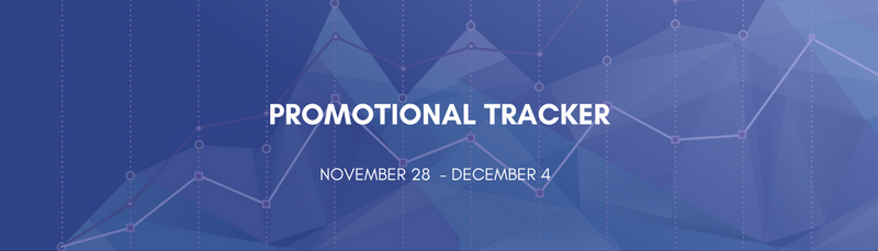 Promotional Tracker: November 28