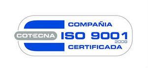 Llevamos mas de 8 años certificados y manteniendo estanderes de calidad reconocidos a nivel mundial.