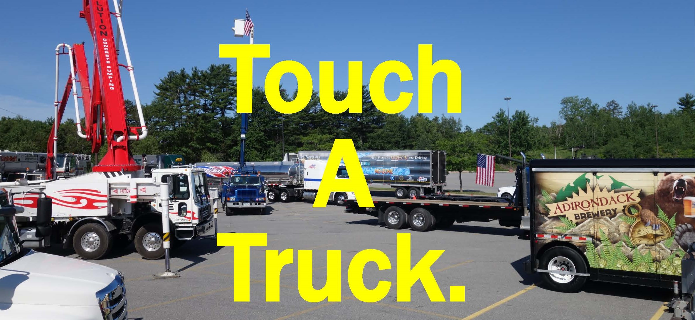 Touch a truck event for families to raise money for veterans for Zappone motors clifton park