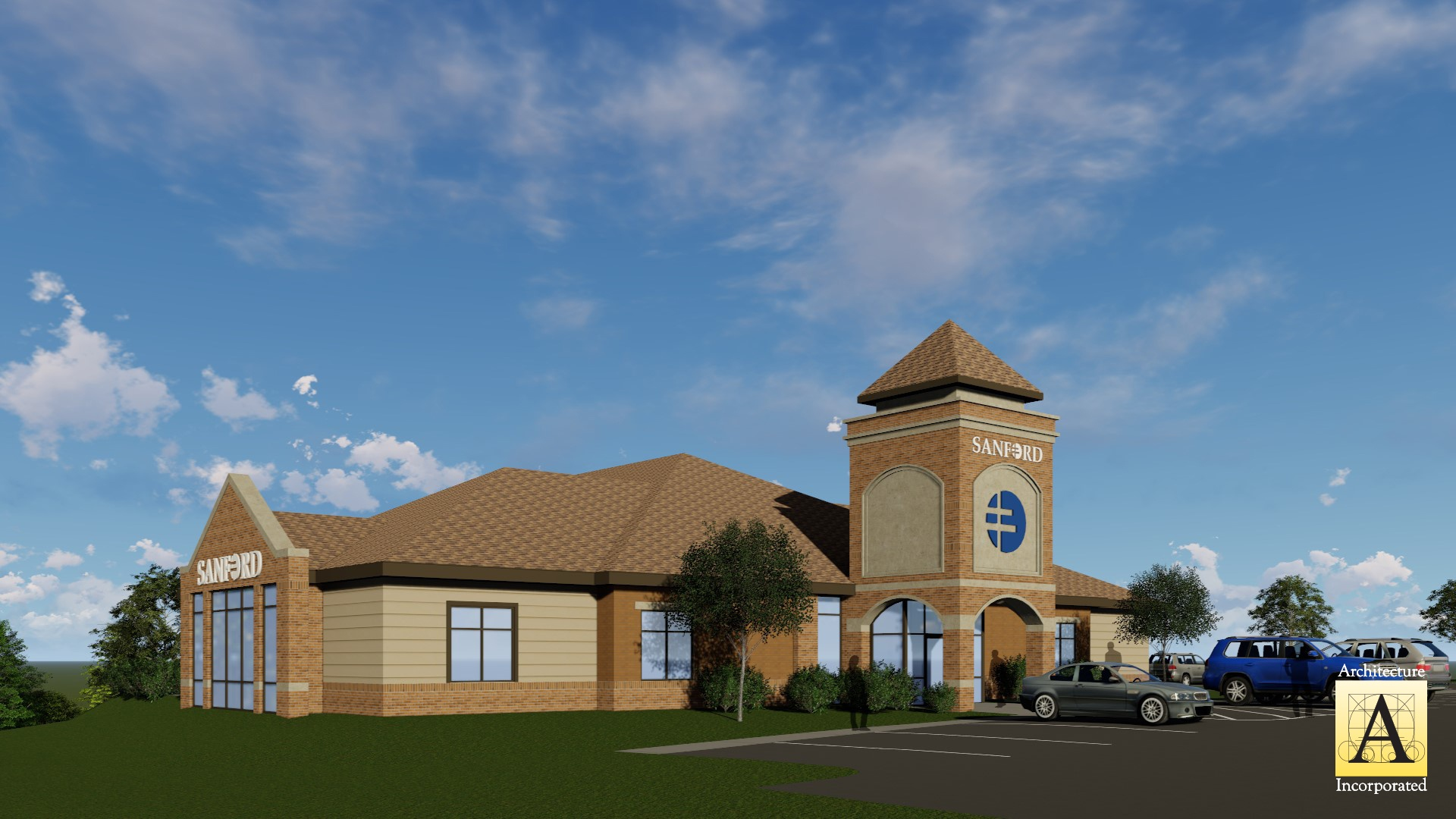 Construction Is Underway at the New Sanford Rock Rapids Clinic