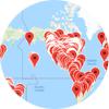 Pachamama Alliance commmunity map