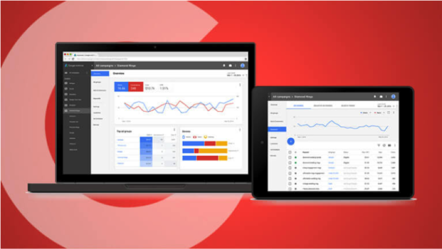Google Adwords New User Interface