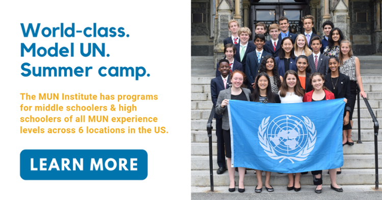 Model UN Research - Best Delegate Model United Nations