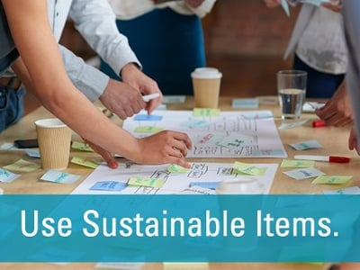 use sustainable items collaboration