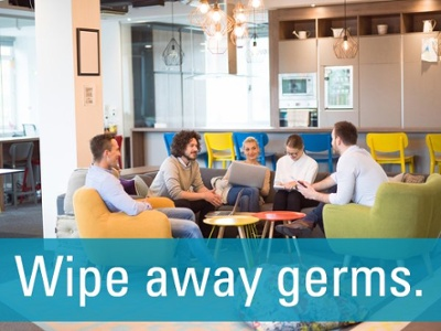 wipe away germs collaboration