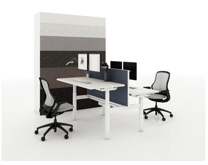 Benching in mondern new office