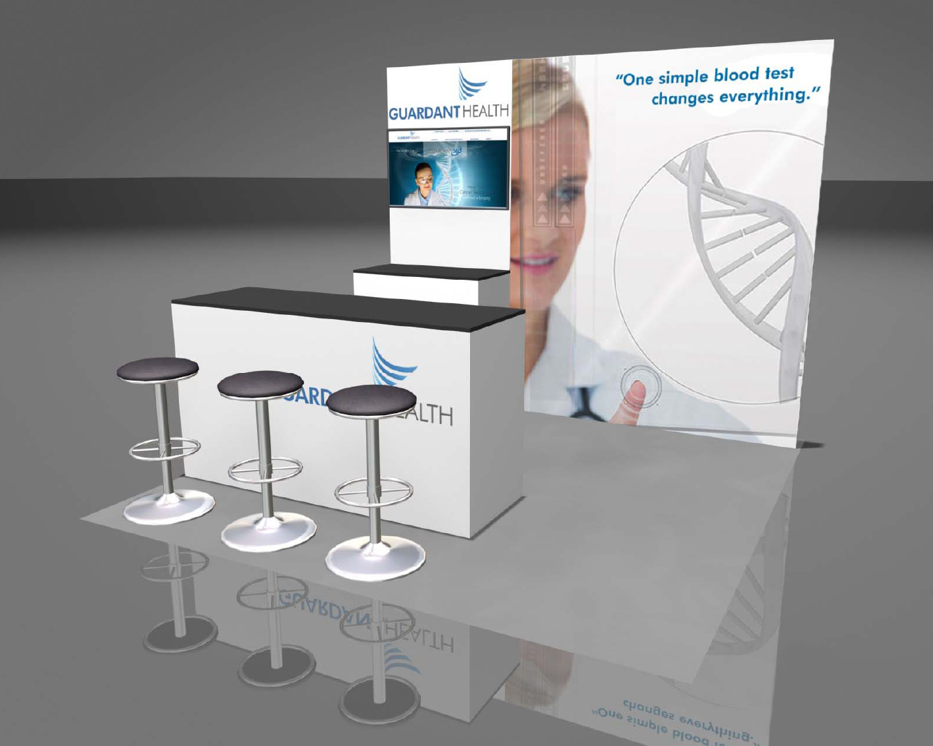 Portable Trade Show Displays | Portable Booth | Portable ...