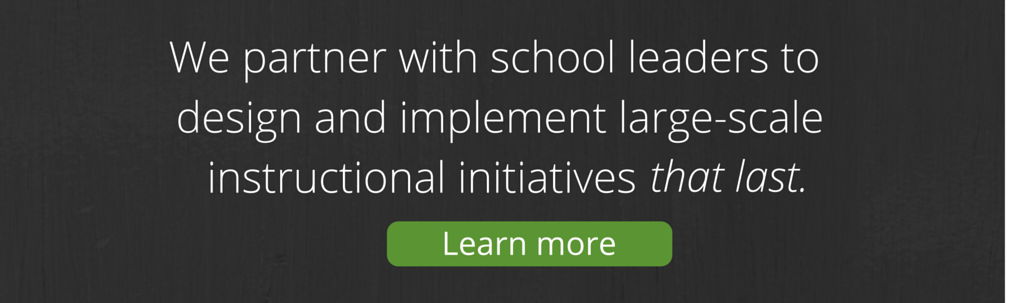 Insight Education Group: We partner with school leaders to design and implement large-scale instructional initiatives that last.