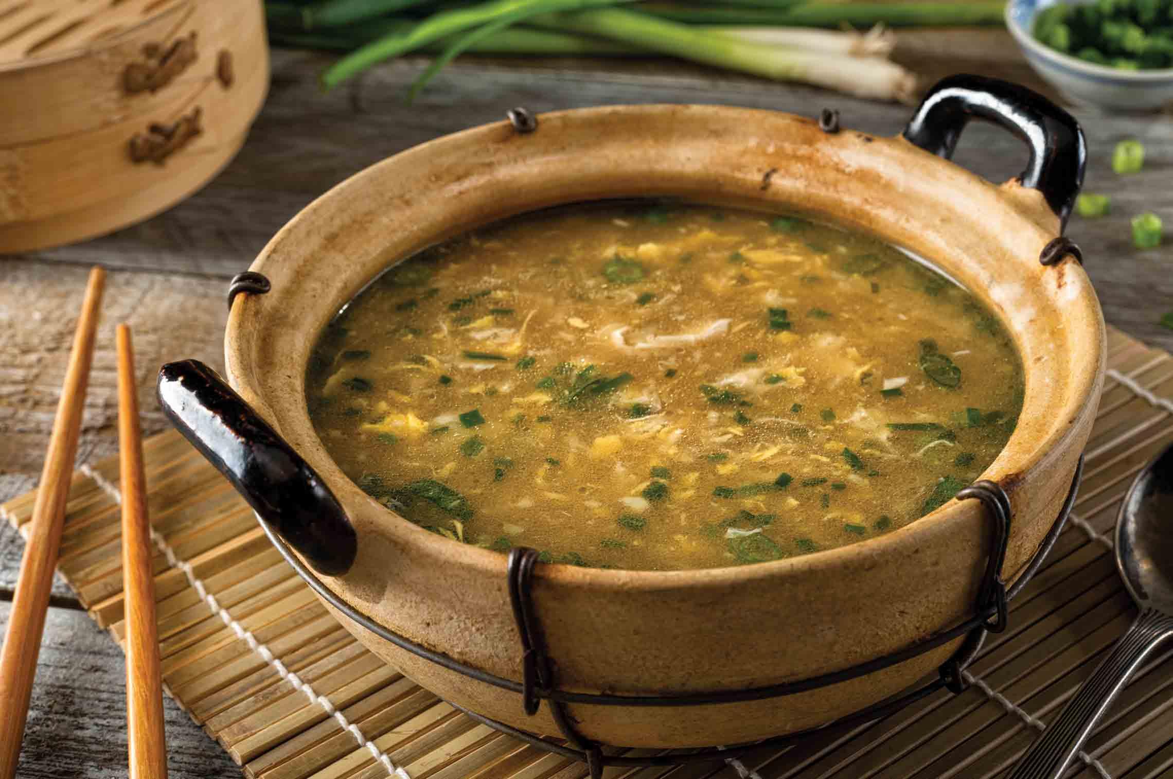 A Delicious Soup Recipe Featuring Spring Veggies