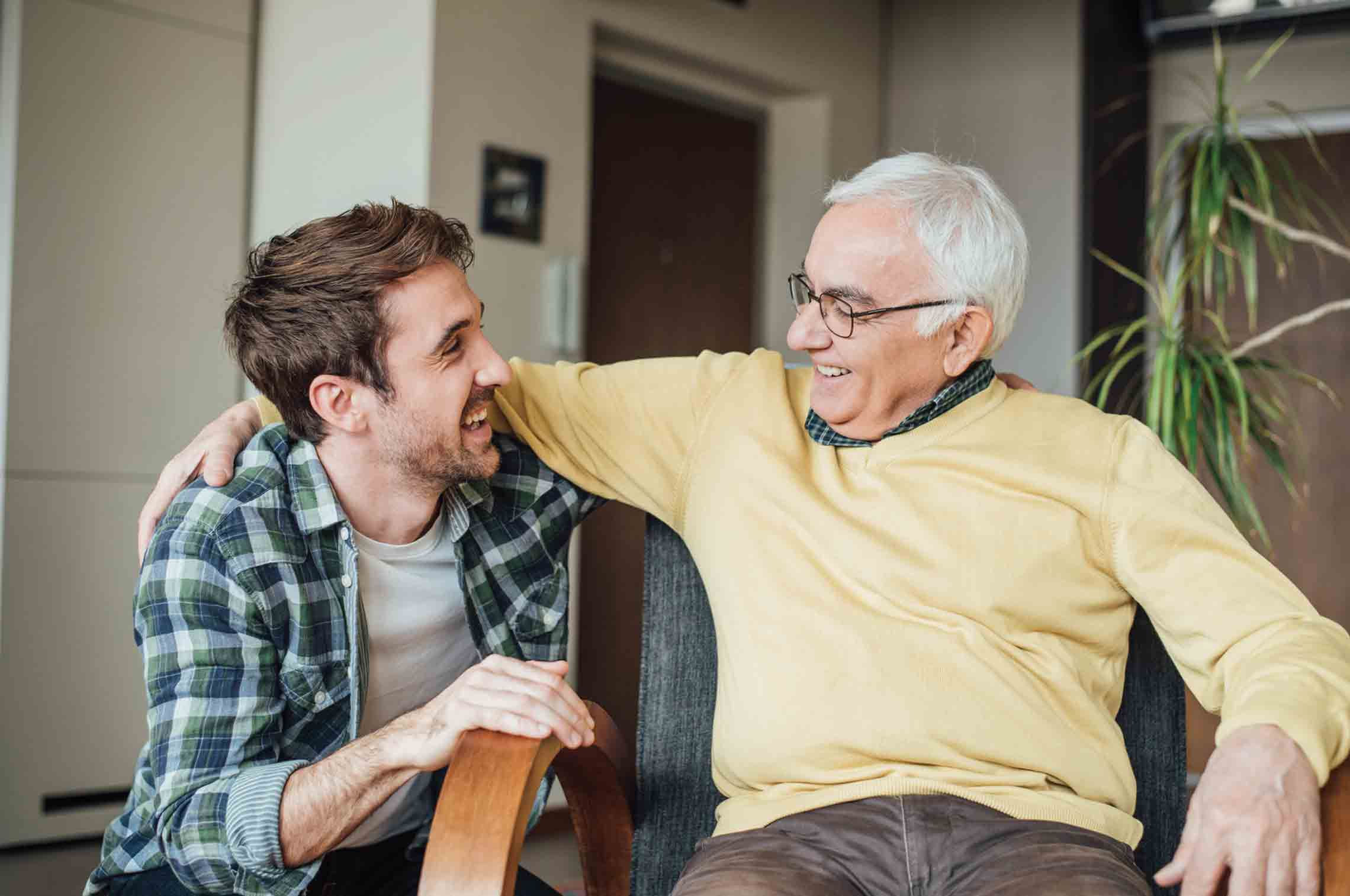 This Year, Celebrate a Senior-Friendly Father's Day