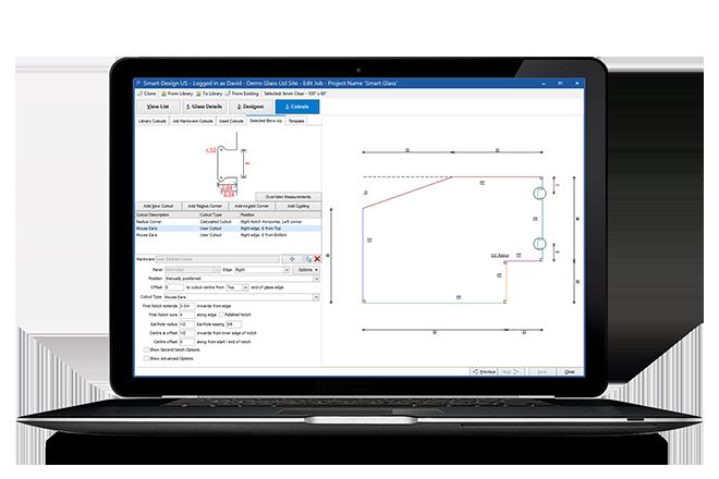 Glass Cutting Optimization Software | Smart-Builder