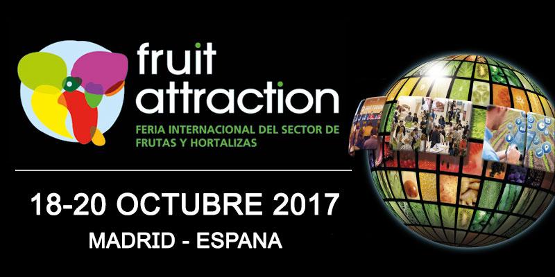 FRUIT ATTRACTION 2017: L'evento internazionale dedicato al settore ortofrutticolo