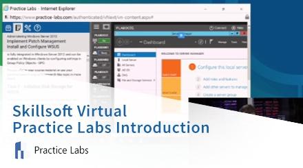 Skillsoft Virtual Practice Labs Introduction