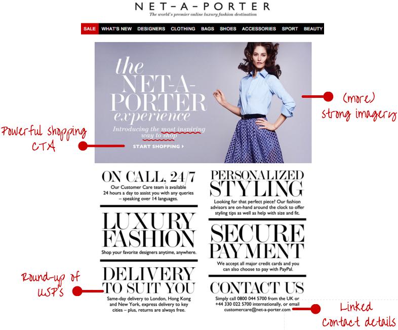 NET-A-PORTER welcome series