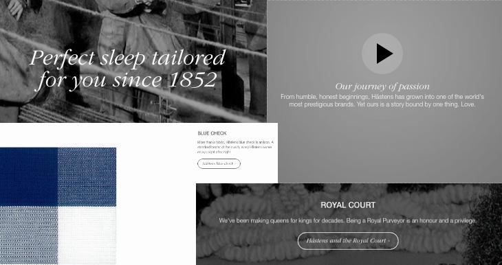 mattress company Hästens brand story