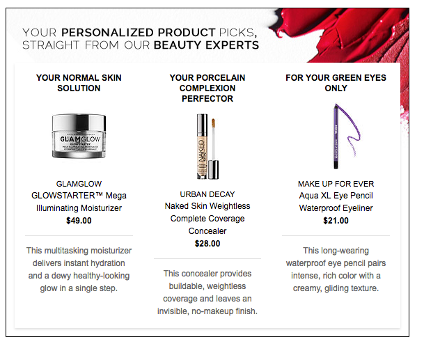 Sephora guided selling