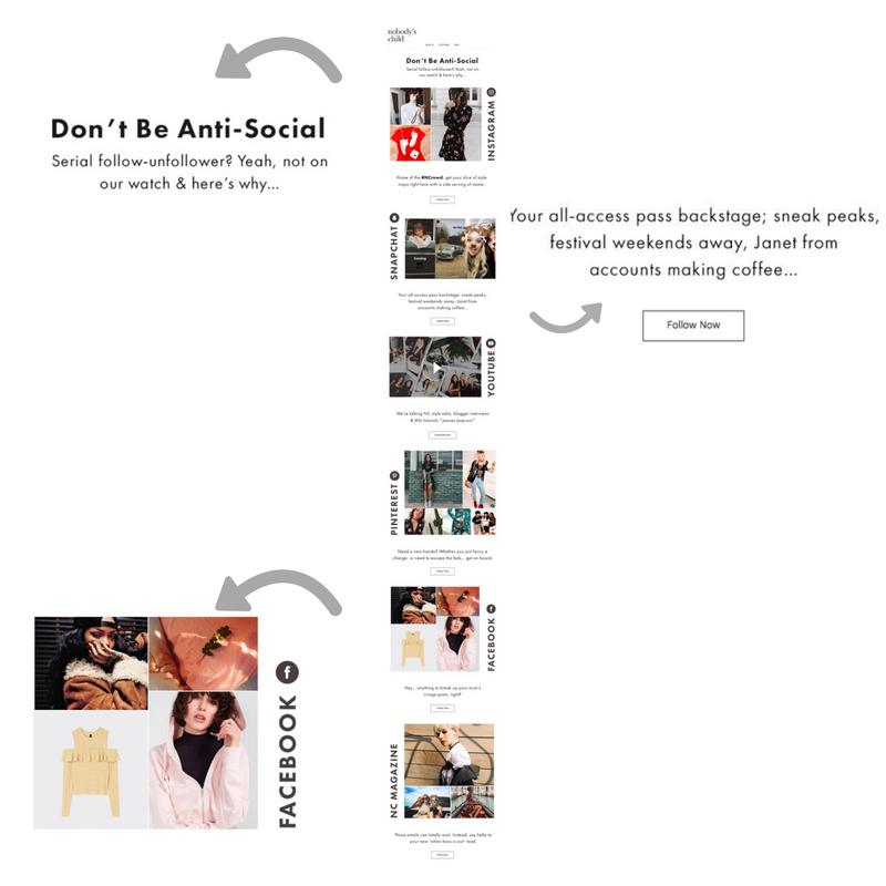 Nobody's Child email marketing_social media promotion
