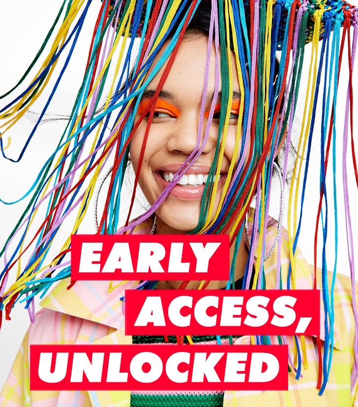 asos ealy sale access