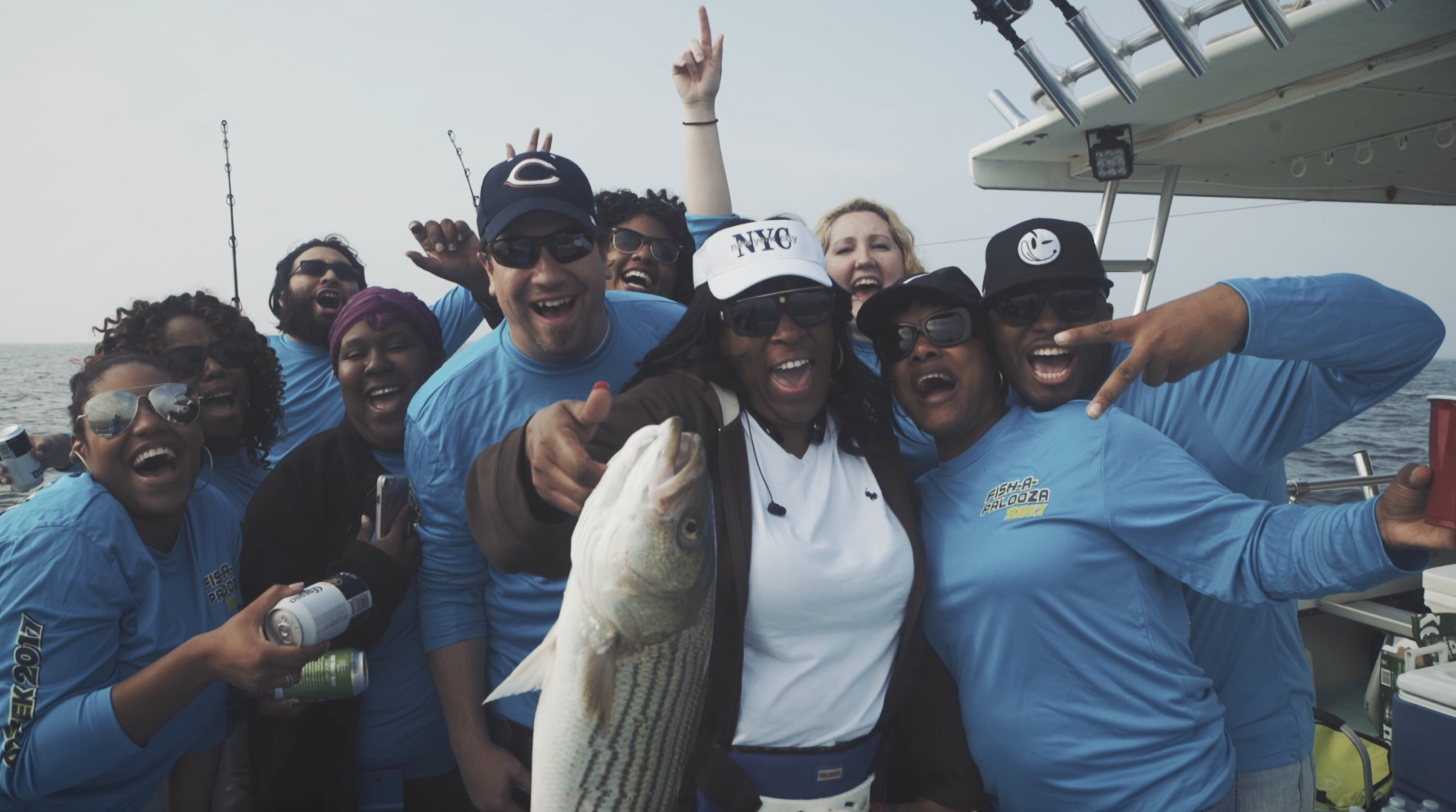 fun group, fishing competition