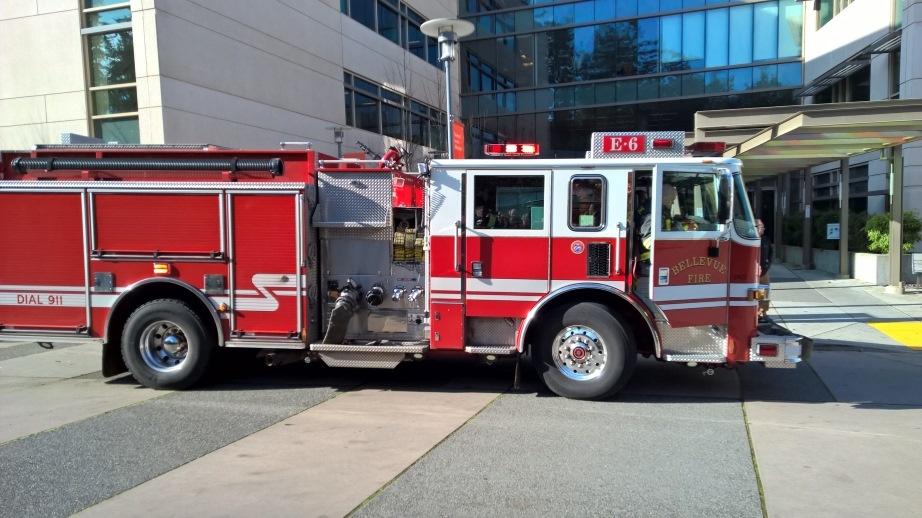 Brandweerwagens uit Bellevue