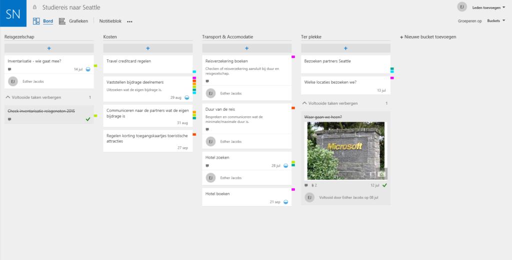 Bucket-overzicht-Microsoft-Office-365-Planner