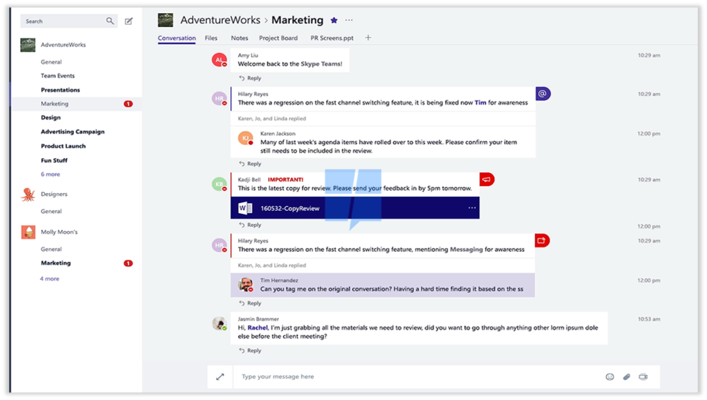 Office 365 Roadmap Microsoft Teams